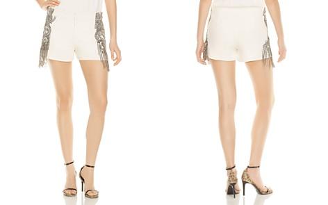 Haute Hippie Soleil Fringed Mini Shorts - Bloomingdale's_2