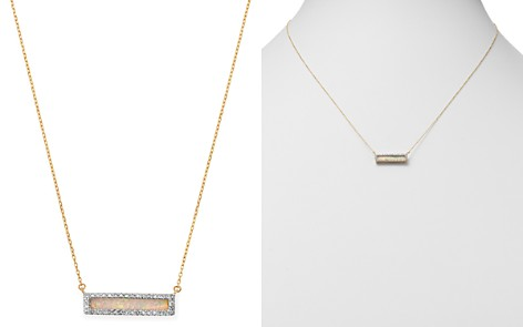 "Adina Reyter 14K Yellow Gold Opal & Diamond Bar Pendant Necklace, 17"" - Bloomingdale's_2"