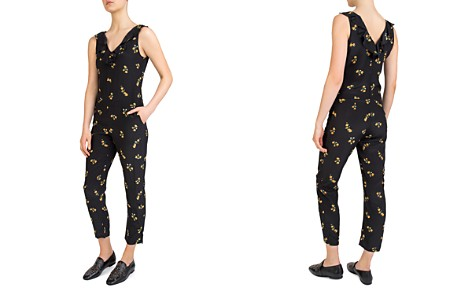 The Kooples Popcorn Flowers Printed Silk Jumpsuit - Bloomingdale's_2