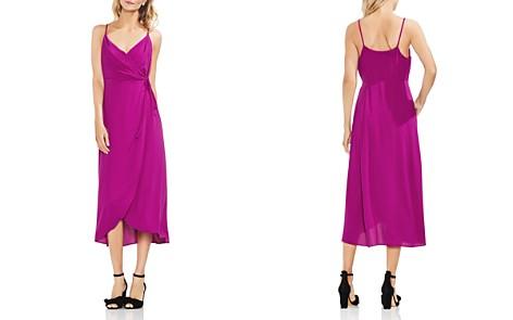 VINCE CAMUTO Sleeveless Midi Wrap Dress - Bloomingdale's_2