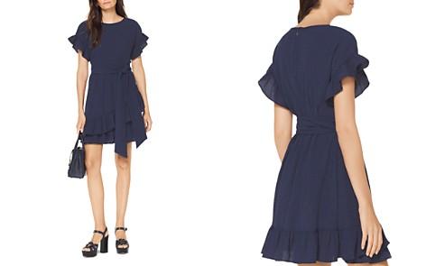 MICHAEL Michael Kors Belted Ruffle Dress - Bloomingdale's_2