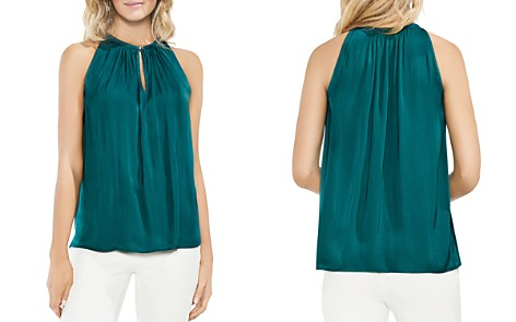 VINCE CAMUTO Keyhole Sleeveless Top - Bloomingdale's_2