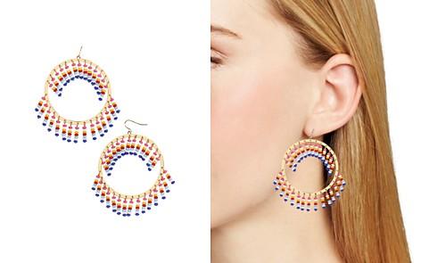BAUBLEBAR Mazarine Fringed Loop Drop Earrings - Bloomingdale's_2