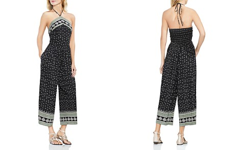 VINCE CAMUTO Fan Print Wide Leg Jumpsuit - Bloomingdale's_2