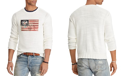 Polo Ralph Lauren Flag Crewneck Sweater - Bloomingdale's_2