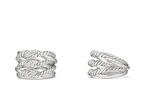 David Yurman Continuance Three-Row Ring with Diamonds - Bloomingdale's_2