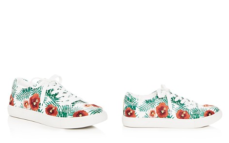 Kenneth Cole Kam Palm Print Lace Up Sneakers - Bloomingdale's_2