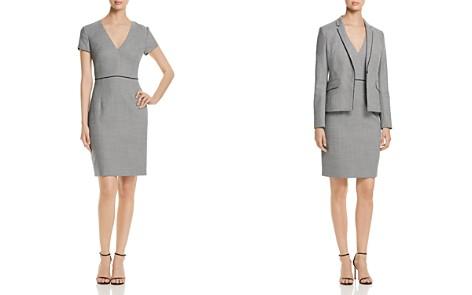 BOSS Doritala Piped Geo-Print Sheath Dress - Bloomingdale's_2