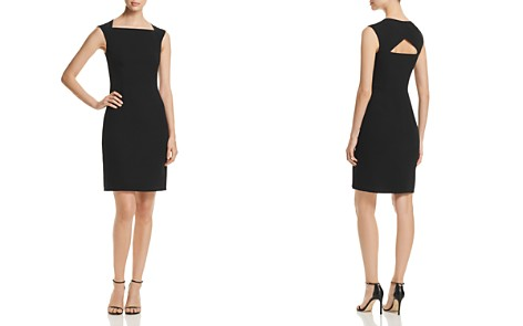 BOSS Dekala Cutout Sheath Dress - Bloomingdale's_2