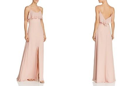Watters Jasper Ruffled Chiffon Gown - Bloomingdale's_2