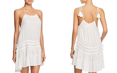 Red Carter Amazon Jungle Drawstring Dress Swim Cover Up - Bloomingdale's_2