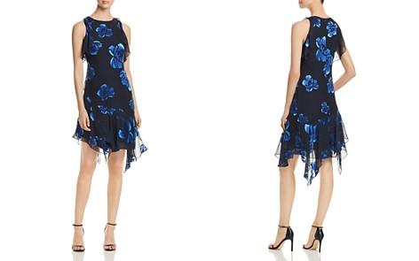 Elie Tahari Serenity Asymmetric Floral-Print Dress - Bloomingdale's_2