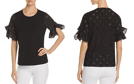 Le Gali Pamela Eyelet Top - 100% Exclusive - Bloomingdale's_2