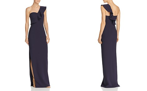 LIKELY Halsey Ruffle One-Shoulder Gown - Bloomingdale's_2