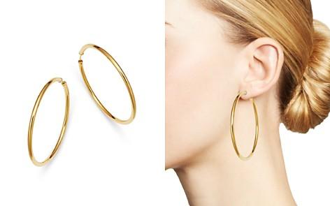 Moon & Meadow Endless Hoop Earrings in 14K Yellow Gold - 100% Exclusive - Bloomingdale's_2