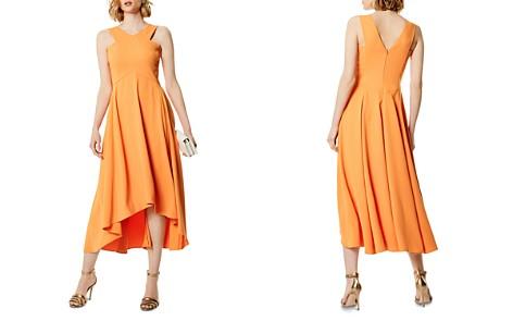KAREN MILLEN High/Low Midi Dress - Bloomingdale's_2
