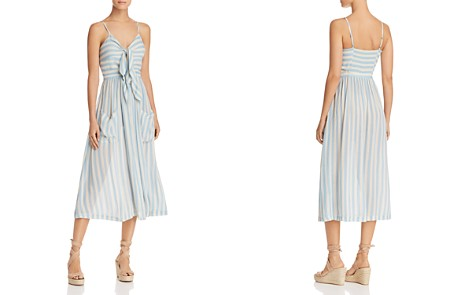 Rebecca Minkoff Derinda Striped Tie-Front Dress - Bloomingdale's_2