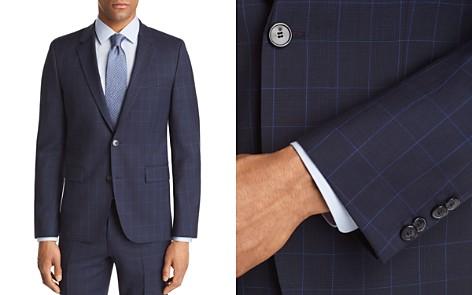 HUGO Astian Slim Fit Tonal Plaid with Windowpane Suit Jacket - Bloomingdale's_2