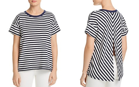 rag & bone/JEAN Kat Split-Back Striped Tee - Bloomingdale's_2