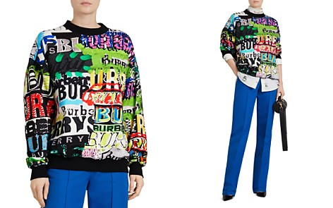 Burberry Aner Graffiti Logo Sweatshirt - Bloomingdale's_2