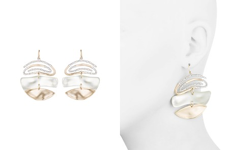 Alexis Bittar Pavé Spiral Drop Earrings - Bloomingdale's_2