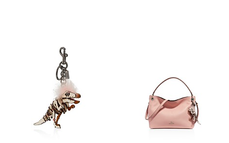 COACH Small Printed Mohawk Rexy Bag Charm - Bloomingdale's_2