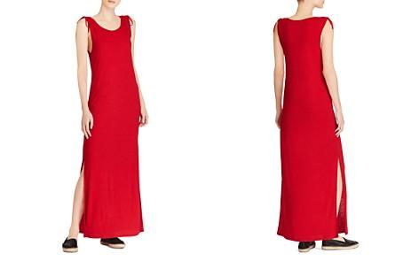 Lauren Ralph Lauren Tie-Shoulder Maxi Dress - Bloomingdale's_2