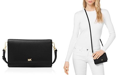 MICHAEL Michael Kors Leather Smartphone Crossbody - Bloomingdale's_2
