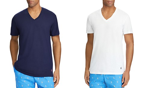 Polo Ralph Lauren Classic Fit V-Neck Tee, Pack of 3 - Bloomingdale's_2