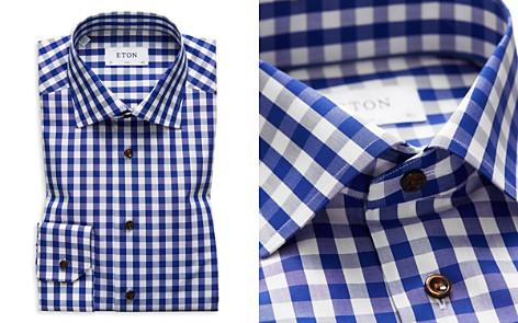 Eton Gingham Slim Fit Dress Shirt - Bloomingdale's_2