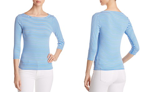 Three Dots Desert Stripe Tee - Bloomingdale's_2
