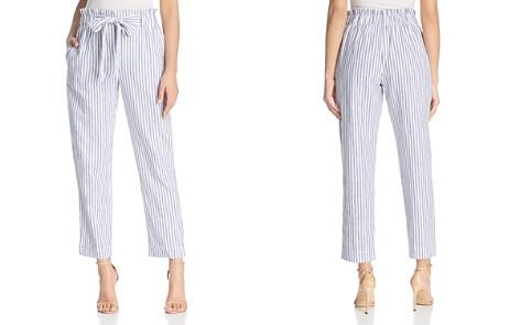 BeachLunchLounge Striped Tie-Waist Crop Pants - Bloomingdale's_2