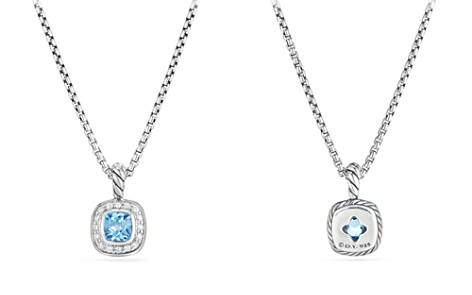 David Yurman Albion Kids Necklace with Blue Topaz & Diamonds - Bloomingdale's_2