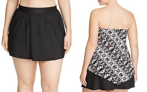 Miraclesuit Plus Solid Swim Skirt - Bloomingdale's_2
