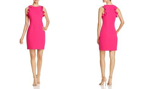 T Tahari Tania Flutter Sheath Dress - Bloomingdale's_2
