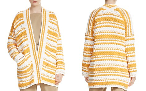 Maje Milio Mixed-Stitch Cardigan - Bloomingdale's_2