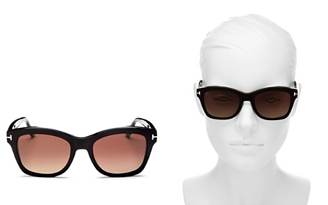 Tom Ford Lauren Polarized Square Sunglasses, 52mm - Bloomingdale's_2