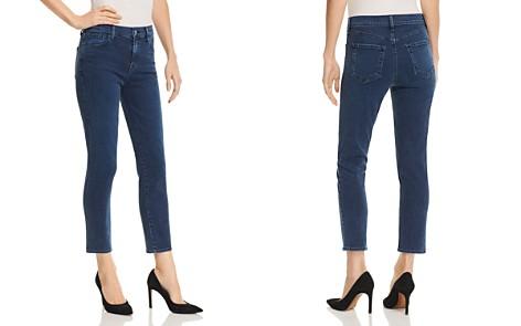 J Brand Ruby High Rise Crop Cigarette Jeans in Breaker - Bloomingdale's_2