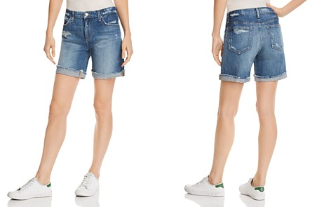 Joe's Jeans Roll-Up Denim Shorts in Lannah - Bloomingdale's_2