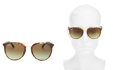 Ray-Ban Brow Bar Square Sunglasses, 55mm - Bloomingdale's_2