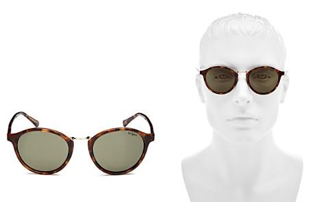 Le Specs Men's Tort Round Sunglasses, 49mm - Bloomingdale's_2