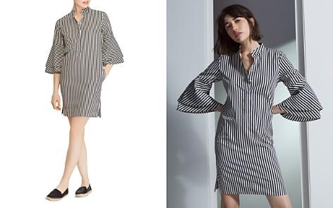 Lauren Ralph Lauren Striped Bell-Sleeve Shirt Dress - Bloomingdale's_2
