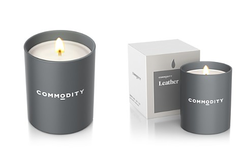 Comodity Leather Candle - Bloomingdale's_2