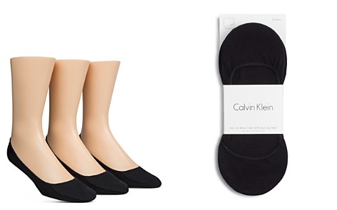 Calvin Klein No Show Liner Socks, Pack of 3 - Bloomingdale's_2