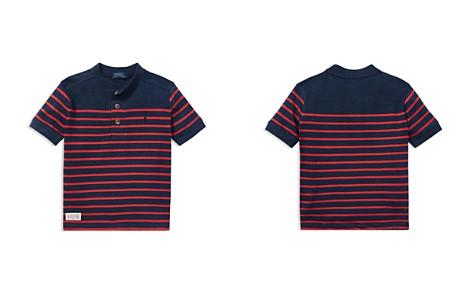 Polo Ralph Lauren Boys' Striped Henley Tee - Little Kid - Bloomingdale's_2