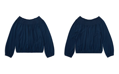 Polo Ralph Lauren Girls' Shirred Jersey Top - Little Kid - Bloomingdale's_2