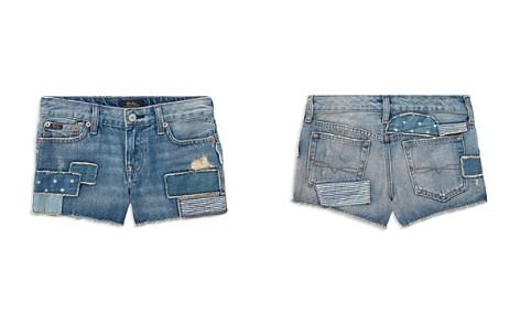 Polo Ralph Lauren Girls' Patchwork Denim Shorts - Little Kid - Bloomingdale's_2
