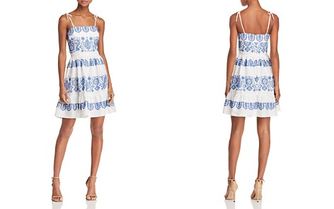 MILLY Mini Mila Embroidered Dress - Bloomingdale's_2