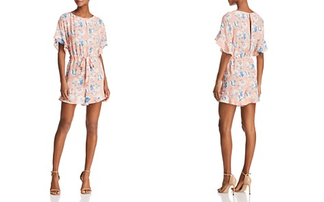 FRENCH CONNECTION Cari Frill Floral Romper - Bloomingdale's_2