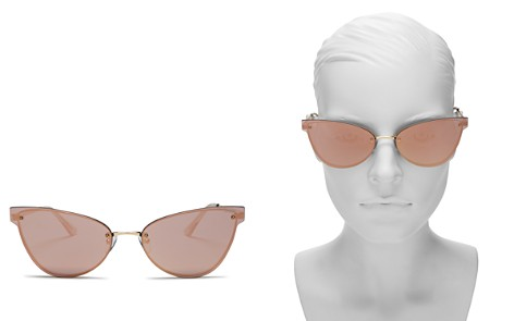 Quay Lady Luck Mirrored Cat Eye Sunglasses, 48mm - Bloomingdale's_2